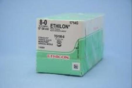 Ethilon (Monofilament Polyamide) Suture 6 MM,