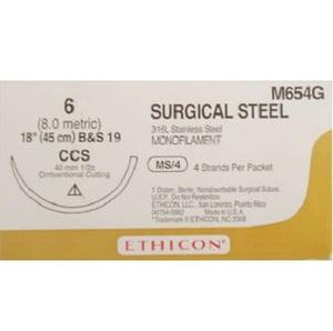 Surgical Stainless-Steel Suture