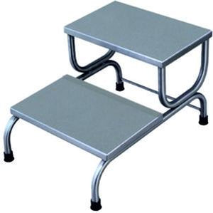 DOUBLE STEP STOOL - S.S / M.S