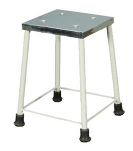 Bed Side Stool With S.S Top