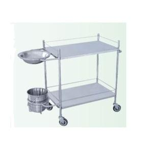 Dressing Trolley with Bowl & Bucket IHF 2650
