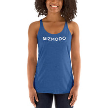 Load image into Gallery viewer, Gizmodo Logo Racerback Tank