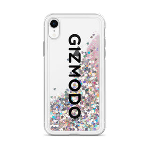 Gizmodo Logo Liquid Glitter Phone Case