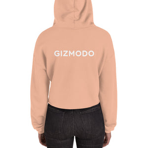 Gizmodo Front & Back Logo Crop Hoodie