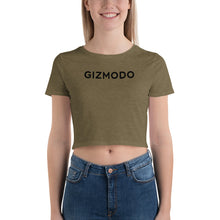 Load image into Gallery viewer, Gizmodo Logo Crop Tee