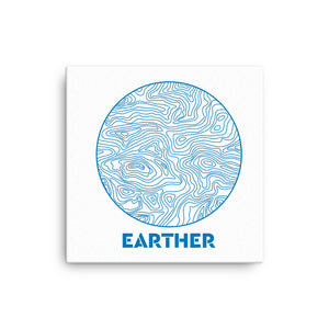 """Earther"" Canvas Print"