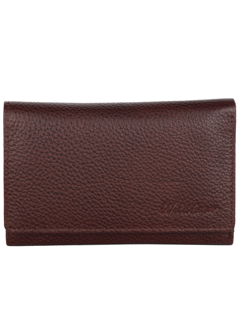 WildHorn RFID Protected Genuine Leather Wallet for Women Stylish|Purse for Women/Girls - WILDHORN