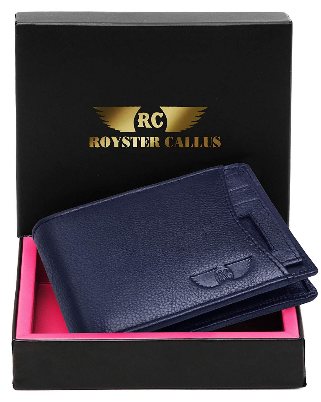 Royster Callus Blue Men's Wallet - WILDHORN