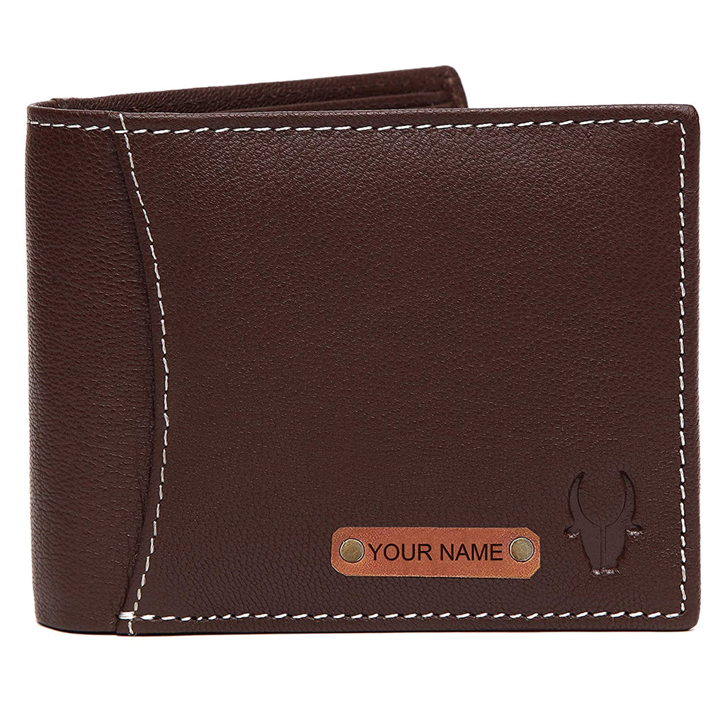 WILDHORN® RFID Protected Customizable Wallet for Gifting | Engrave with Your Name,Company Name or Initials