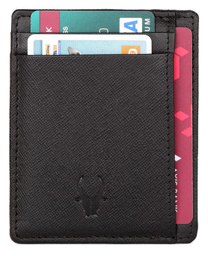 WildHorn Black Credit Card Case - WILDHORN