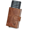 WILDHORN® RFID Protected Customizable Card Holder for Gifting | Engrave with Your Name,Company Name or Initials