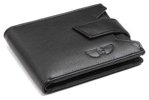 Royster Callus Black Men's Wallet - WILDHORN