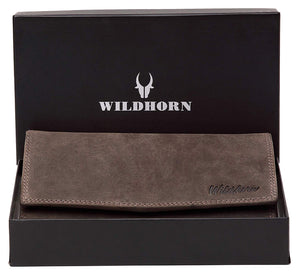 WildHorn Mia RFID PROTECTED Genuine Leather Wallet for Women stylish|Purse for Women/Girls - WILDHORN