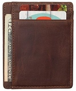 Wildhorn Urban Edge Vintage Leather Credit Card Holder - WILDHORN