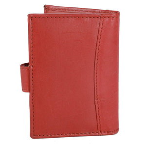 WildHorn Red Credit Card Holder - WILDHORN