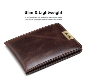Royster Callus Brown Men's Wallet - WILDHORN