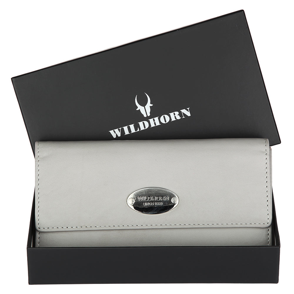WILDHORN® Genuine Leather Wallet for Women |Purse for Women/Girls