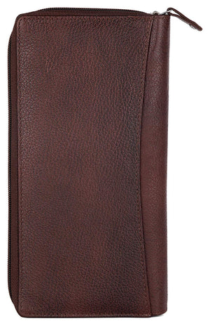 WILDHORN Bombay Brown Passport Wallet (WH2101) - WILDHORN