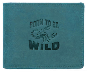 WILDHORN® Scorpion Hunter Leather Wallet for Men