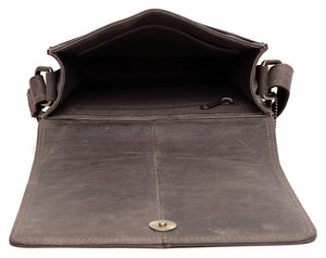 WILDHORN® 100% Genuine Leather Sling Messenger Bag for Men