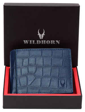 WildHorn® RFID Protected 100% Genuine High Quality Mens Leather Wallet - WILDHORN