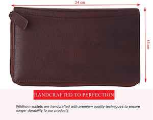 WildHorn Brown Passport Cover - WILDHORN