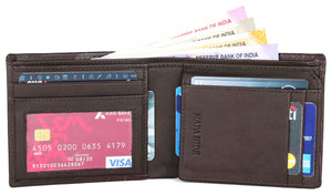 Copy of Napa Hide RFID Protected Genuine High Quality Leather Wallet & Pen Combo for Men - WILDHORN