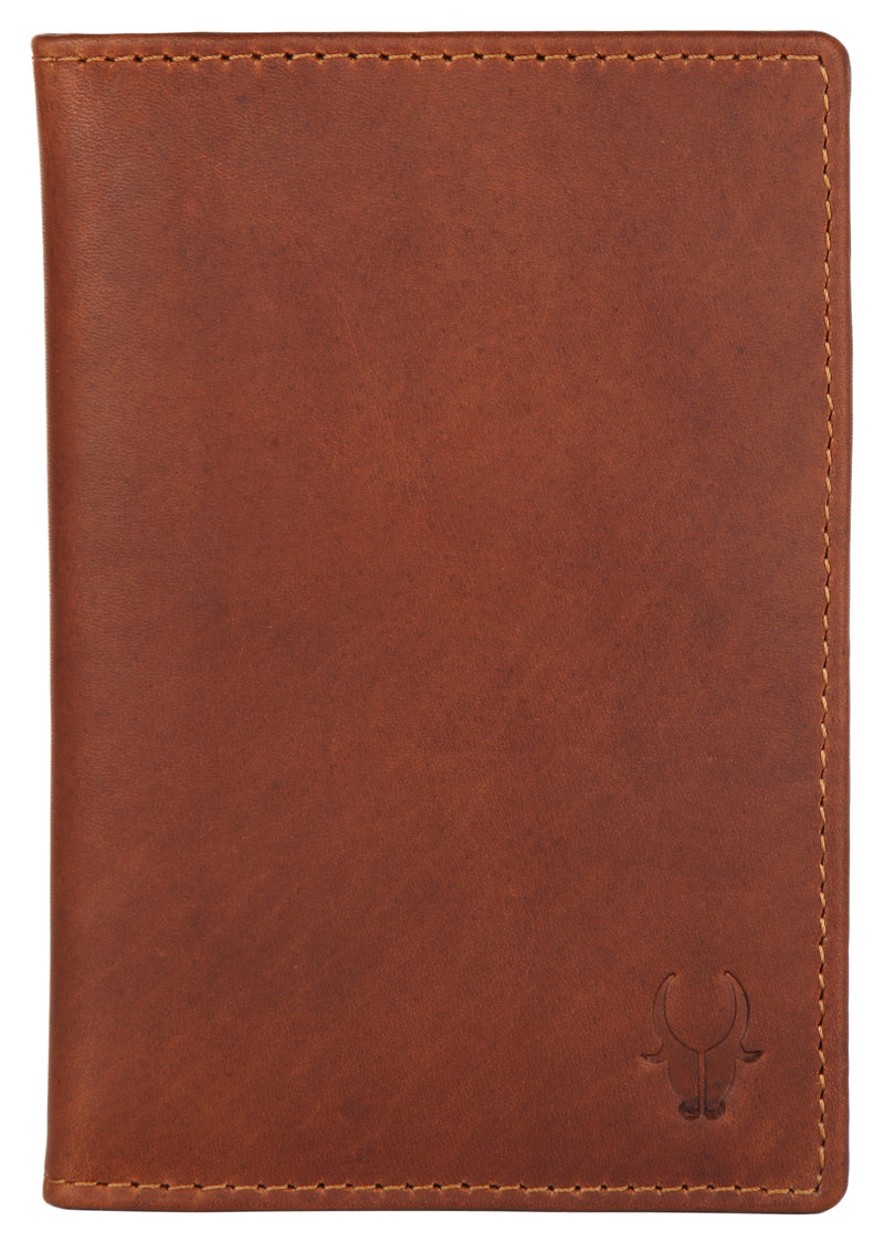 WILDHORN® Leather Passport Holder Cover Case RFID Blocking Travel Wallet