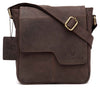 WildHorn Urban Edge Vintage 100% Genuine Leather Messenger Bag - WILDHORN