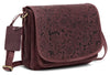 WILDHORN®Oliva Crossbody Bags for Women-Premium Leather Vintage Fashion Purse with Adjustable Strap
