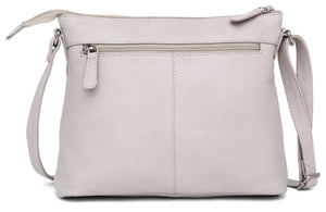 WILDHORN® Upper Grain Genuine Leather Ladies Sling Bag | Cross-body Bag | Hand Bag | Shoulder Bag with Adjustable Strap for Girls & Women - WILDHORN
