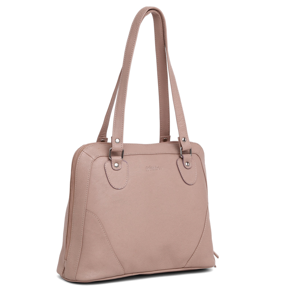 WildHorn® Upper Grain Genuine Leather  Shoulder Bag for Girls & Women. - WILDHORN