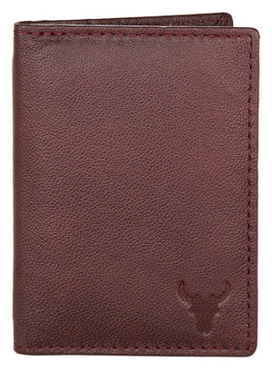 Napa Hide Brown Men's Wallet (NPCRD002 MRN) - WILDHORN