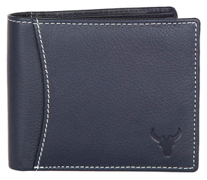 Napa Hide Blue Men's Wallet (NPH006 BLU) - WILDHORN