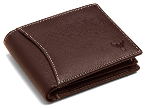 Napa Hide Brown Men's Wallet (NPH007 BRN) - WILDHORN
