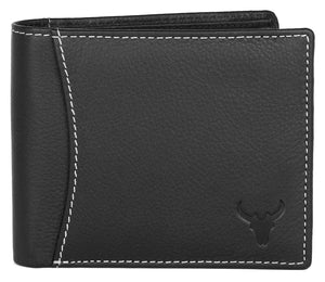 Napa Hide Black Men's Wallet (NPH008 BLK) - WILDHORN