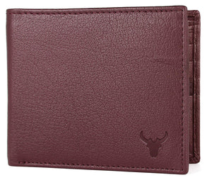 Napa Hide Brown Men's Wallet (NPH013 MRN) - WILDHORN