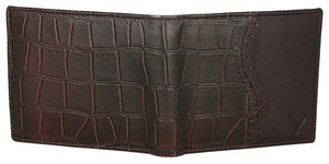 Napa Hide Men's 100% Genuine Leather Wallet & Belt Combo (NPHCOMBO002) - WILDHORN