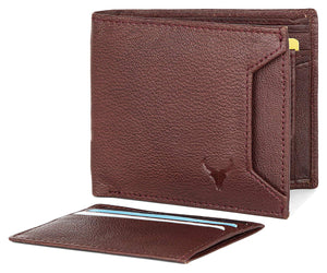 Napa Hide Men's 100% Genuine Leather Wallet & Belt Combo (NPHCOMBO020) - WILDHORN