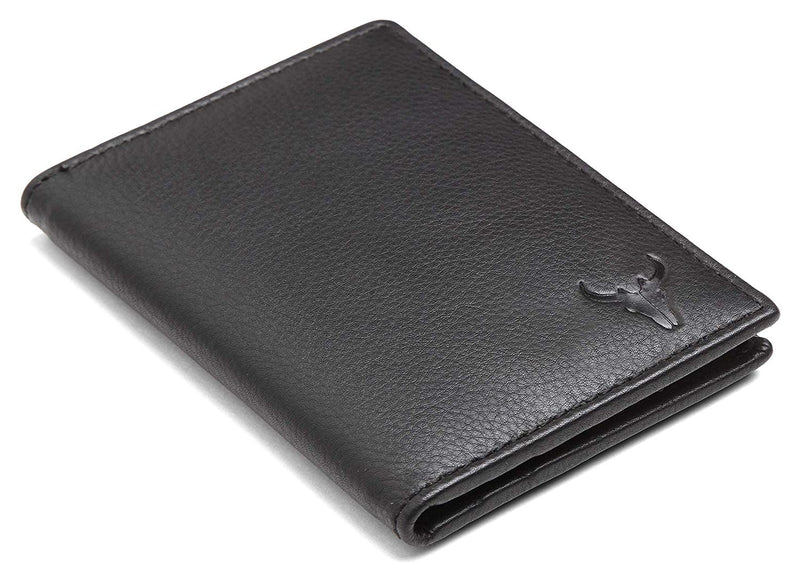 Napa Hide Black Men's Wallet (NPHCRD001 BLK) - WILDHORN