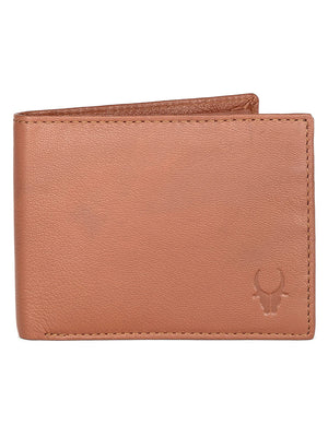 WILDHORN® RFID Protected Genuine High Quality Leather Wallet & Belt Combo for Men