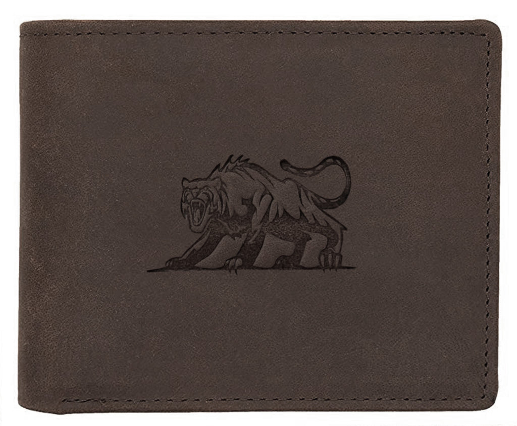 WILDHORN® Panther Leather Wallet for Men