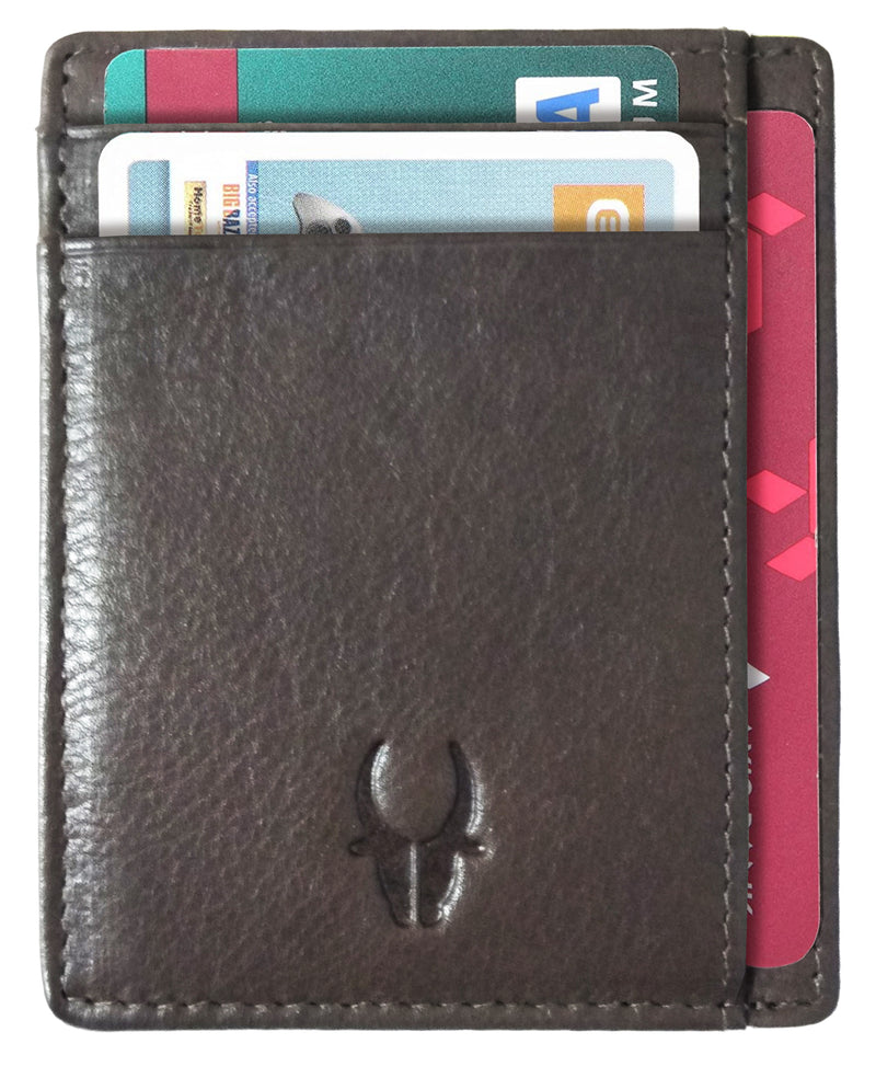 WILDHORN®Genuine Leather Card Case for Mens