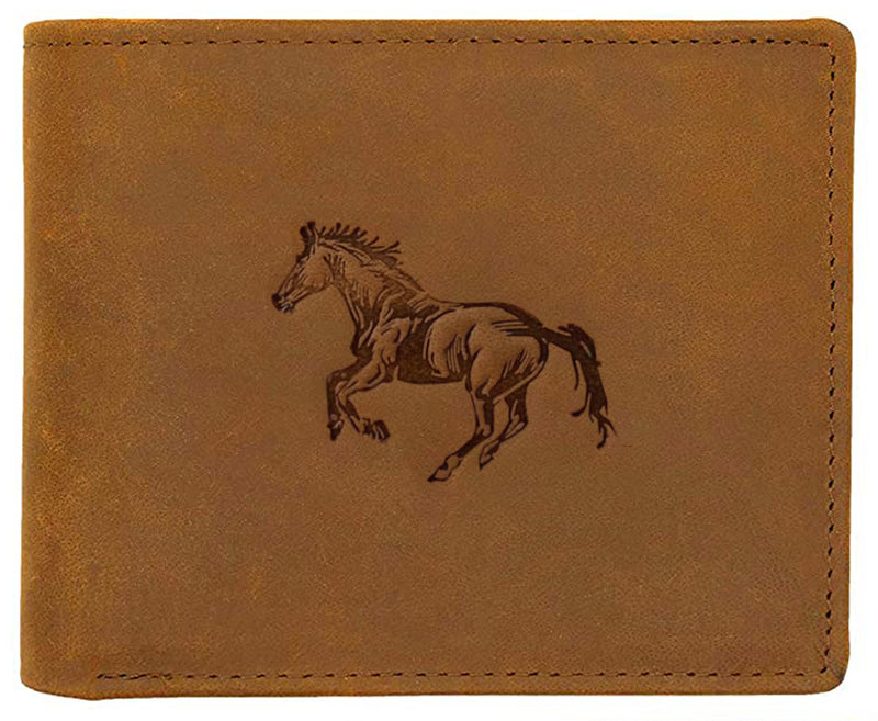 WILDHORN® Stallion Hunter Leather Wallet for Men