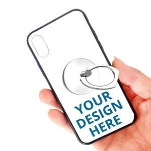 DIY Custom Iphone X/XS TPU Glass Phone Case