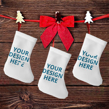 Load image into Gallery viewer, DIY Custom Christmas Stockings 3 Pcs Set 7.5""