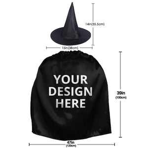 DIY Custom Halloween Witch Set