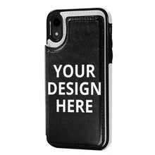 Load image into Gallery viewer, DIY Custom Iphone XR Case Leather Card Slot