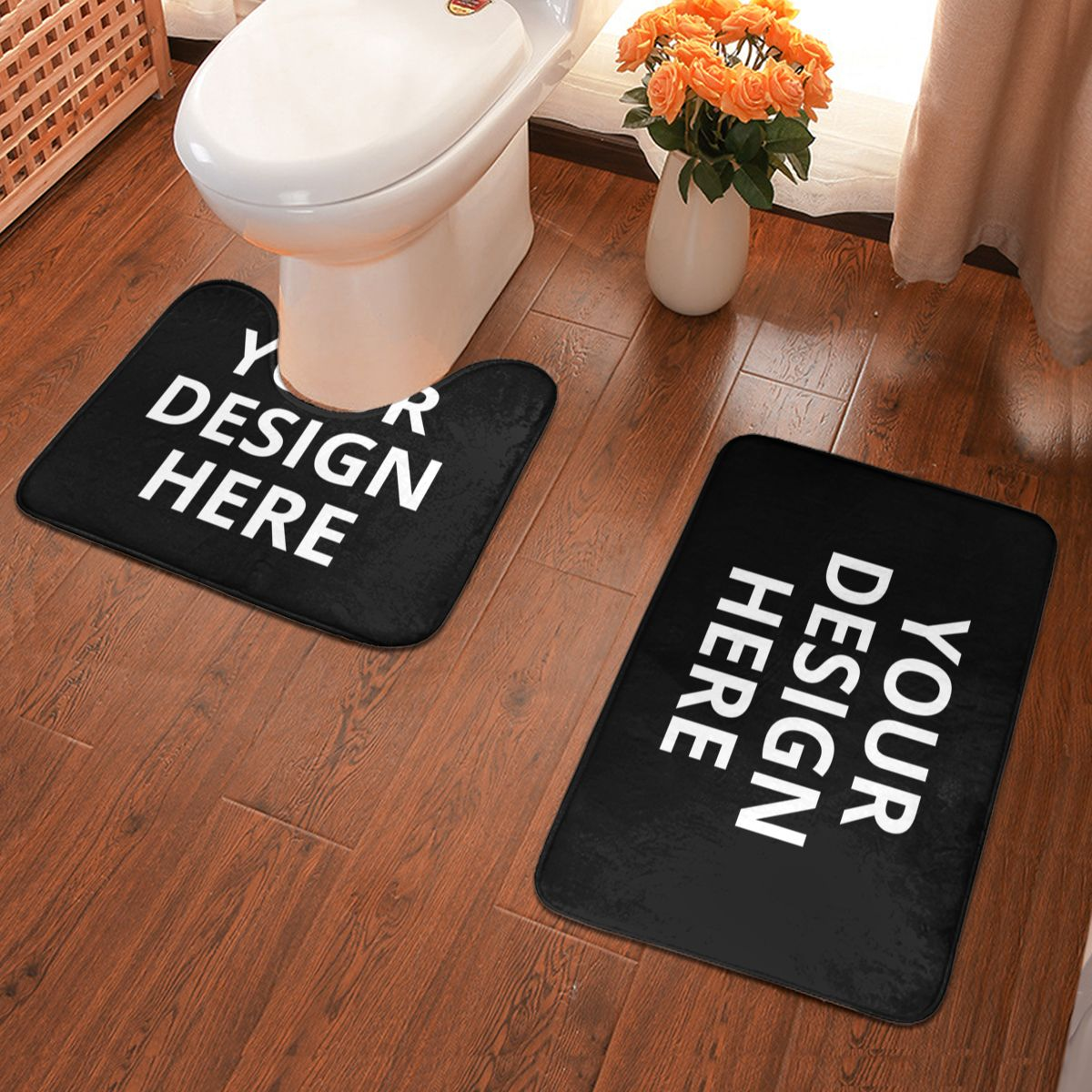 DIY Custom Bathroom Antiskid Pad