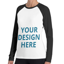 Load image into Gallery viewer, DIY Custom Women's Long Sleeve T